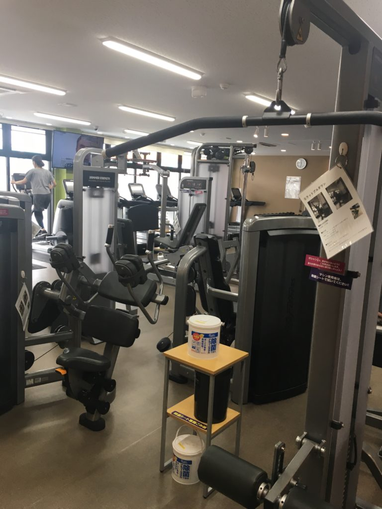 ANYTIME FITNESS志免店の店内画像