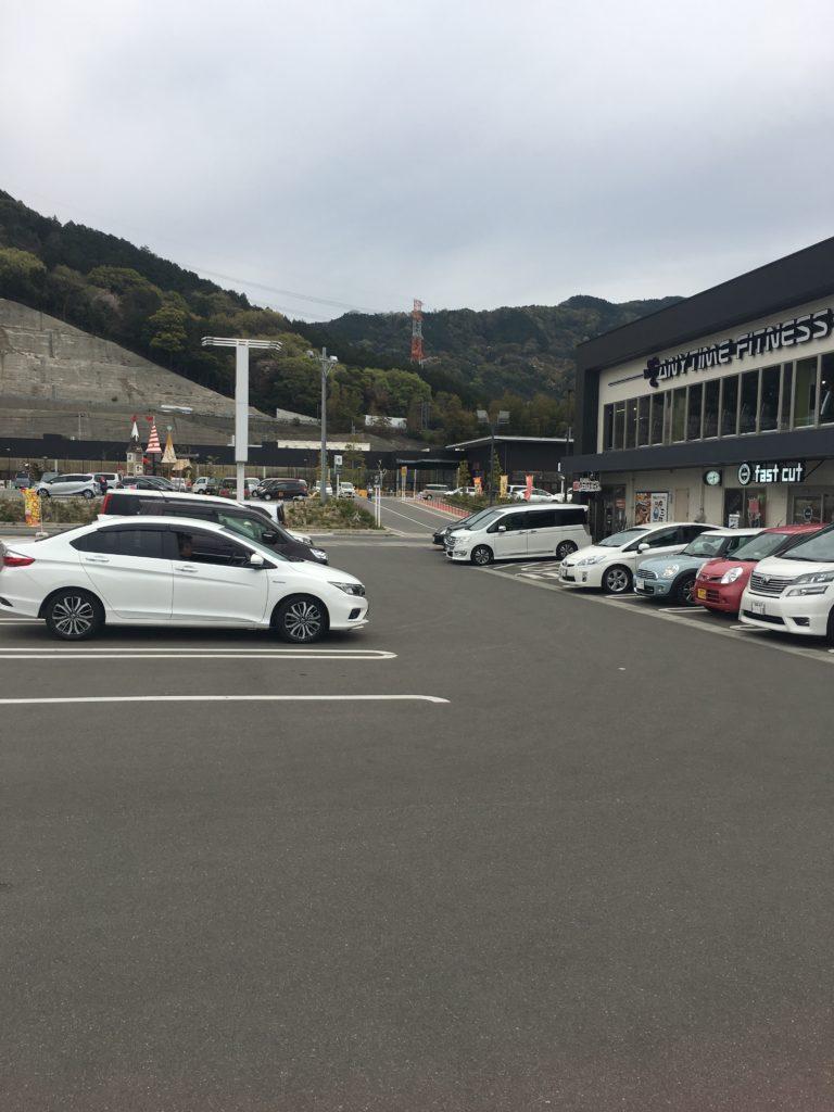 エニタイムフィットネス大野城店の駐車場画像