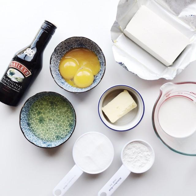 バター卵プロテインが置かれたテーブル