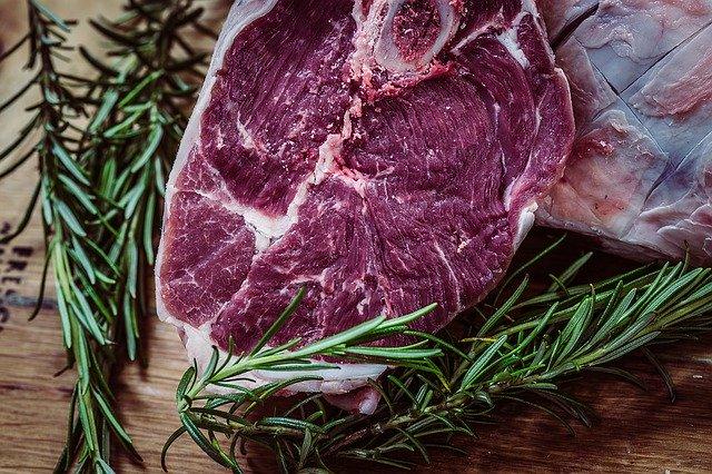 赤身肉の画像