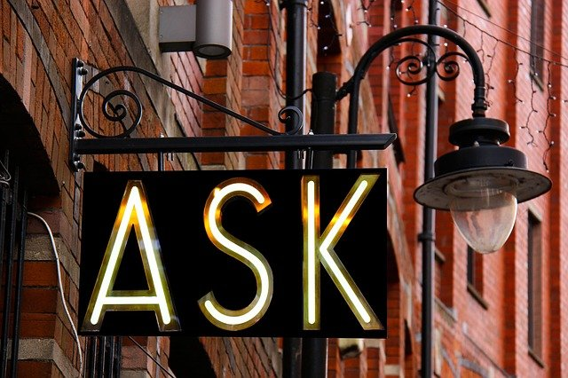 ASKの看板の画像